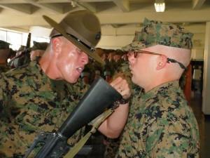 Basic Training drill sergeant